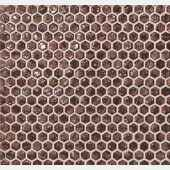 6DHR dwell rust hexagon gold мозаика